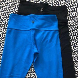 Lululemon wunder under cropped leggings || size 4